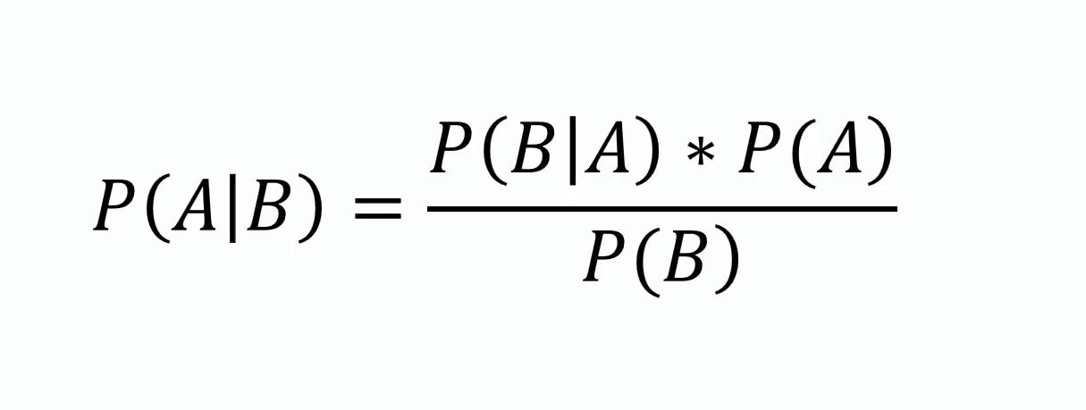 Herleitung des Maschinenlernverfahrens auf Grundlage des Bayes Theorem - Schritt 1