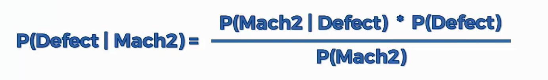 Herleitung des Maschinenlernverfahrens auf Grundlage des Bayes Theorem - Schritt 2