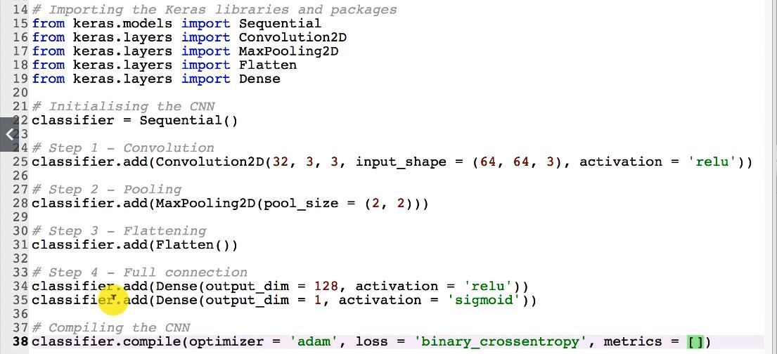 Maschinenlernen. Deep Learning. Convolutional Neural Networks. Umsetzung in Python – Schritt 1