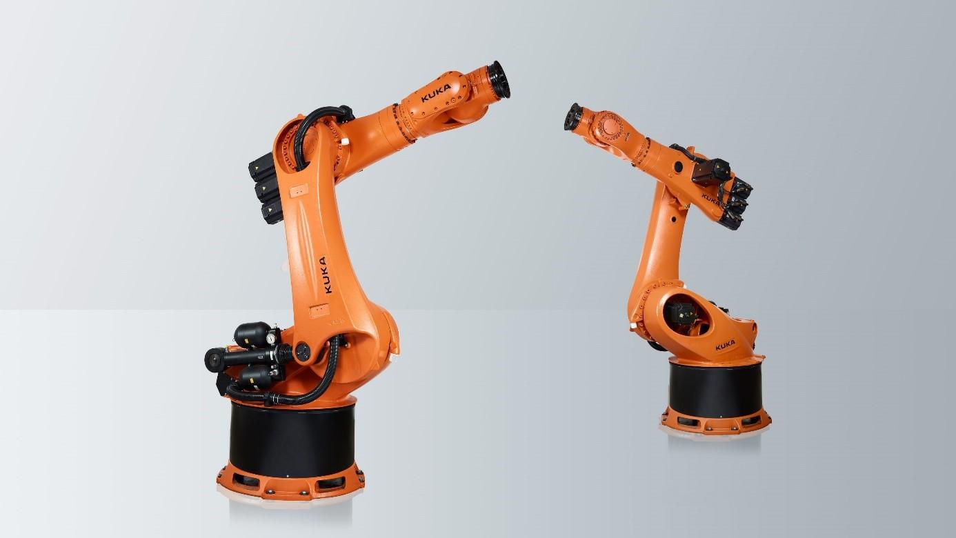 Der Roboter KR-360-2 der Firma KUKA